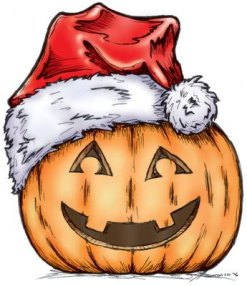 christmas-pumpkin